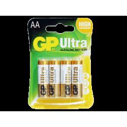 סוללה GP Ultra AA 4 pck