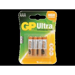 סוללה GP Ultra AAA 4 pck