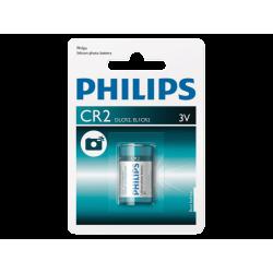 סוללה CR2 3V PHILIPS