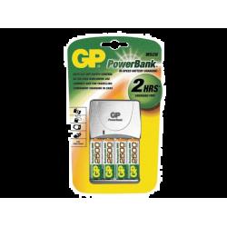 מטען סוללות GP AA 2700 mAh M520