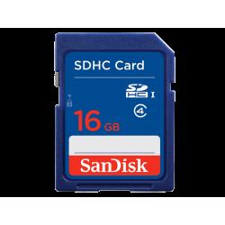 כרטיס זיכרון SanDisk SDHC 16GB SDSDB-016G