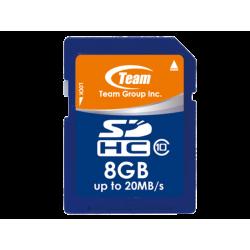 כרטיס זיכרון Team SDHC 8GB class 10