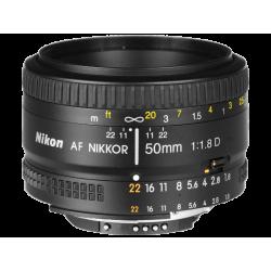 עדשה Nikon AF Nikkor 50mm f/1.8D הדר
