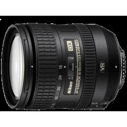 עדשה Nikon AF-S DX NIKKOR 16-85mm f/3.5-5.6G ED VR הדר