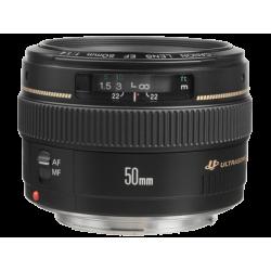 עדשה Canon EF 50mm f/1.4 USM קרט