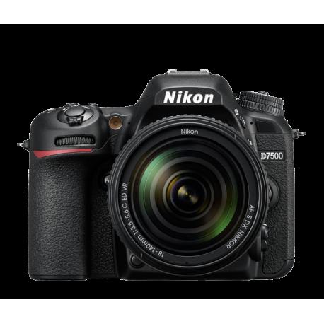Nikon DSLR D7500 + 18-140 AFS קיט
