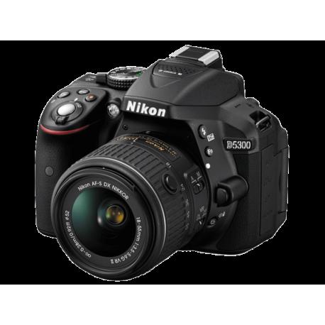 מצלמת רפלקס DSLR Nikon D5300 + 18-55 + 70-300VR הדר