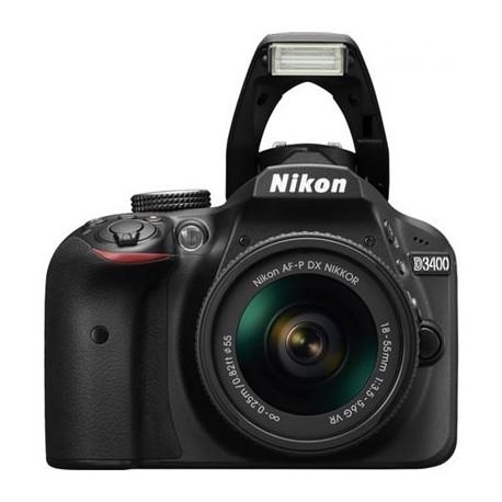 Nikon DSLR D3400 + 18-55AFPVR קיט